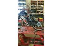 Petrol bicycle