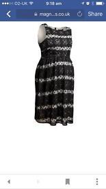Brand new maternity dress size 18