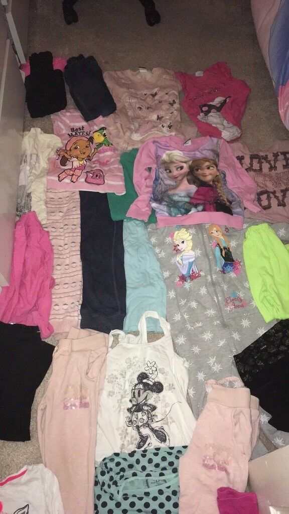 Girls 4~5 years clothes bundle £5 the lot