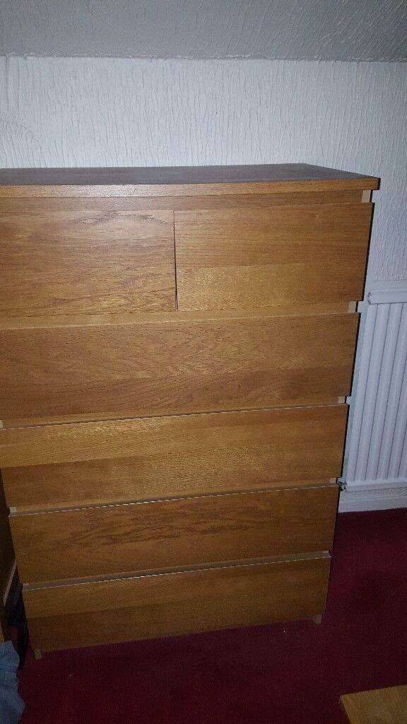 3 sets of drawers