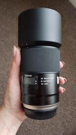 Canon Fit Tamron Lens