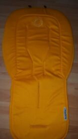 Bugaboo yellow seat liner
