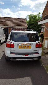 7 Seater Chevrolet Orlando White 1.8 petrol low mileage 12 month MOT 5 months tax FSH