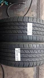 185/50/16 part worn tyre used tires