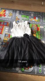 Girls dress 7-8 years