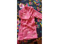 Girls bath robe / dressing gown