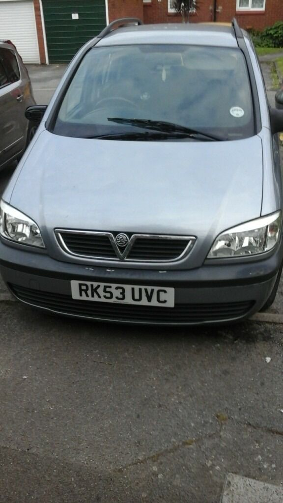 vauxhall zafira 2 0 dti 7 seater in blackheath london gumtree. Black Bedroom Furniture Sets. Home Design Ideas