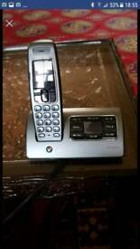 BT Cordless phone with answering machine facility and playback