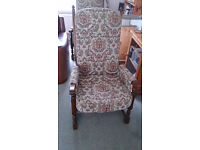 2 Antique Wood Bros Old Charm Chairs (excellent condition)
