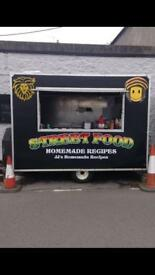 Food trailer and pitch