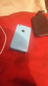 Iphone 5c 16gb.Blue, V Good condition. With charger and case.