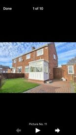 two bedroom house to rent in billingham