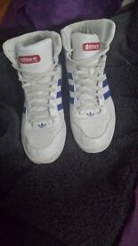 Size 12 Adidas High Tops great condition. See photos £15 ono