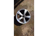 Audi A1 Sline alloy wheel
