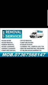Man and van,Saint Helens,House Moves,House Clearance,Rubbish Collection,Furniture Disposal
