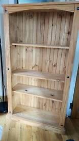 Oak book case for sale