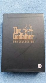 The Godfather Boxset, Part 1+2+3 and Bonus Materials, Everything included, Contact me asap, Cheap £5