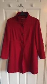 Ladies coat 16 petite
