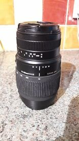 Sigma DG 70-300mm canon fit