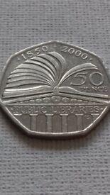 Rare Public library coin