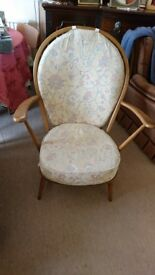 1950's Low Windsor Chair by Lucian Ercolani for Ercol For Sale