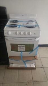 "NEW 24"" ELECTRIC RANGE (WHITE)"