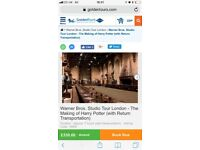 Family Ticket to Harry Potter World with Transport from Victoria on 3rd of Dec 2017