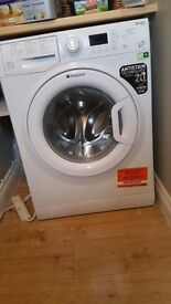 HOTPOINT WMFUG942 SMART WASHING MACHINE JUST OVER ONE YEAR OLD