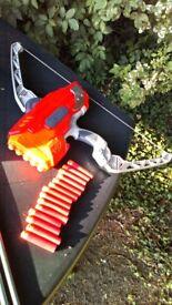 Nerf Mega Thunderbow N-strike Elite Archery bow Toy Gun crossbow red