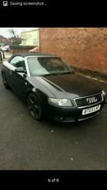 Audi a4 convertable