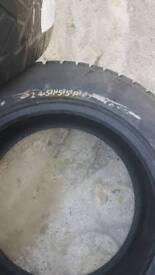 245/55R17 Dunlop tyres