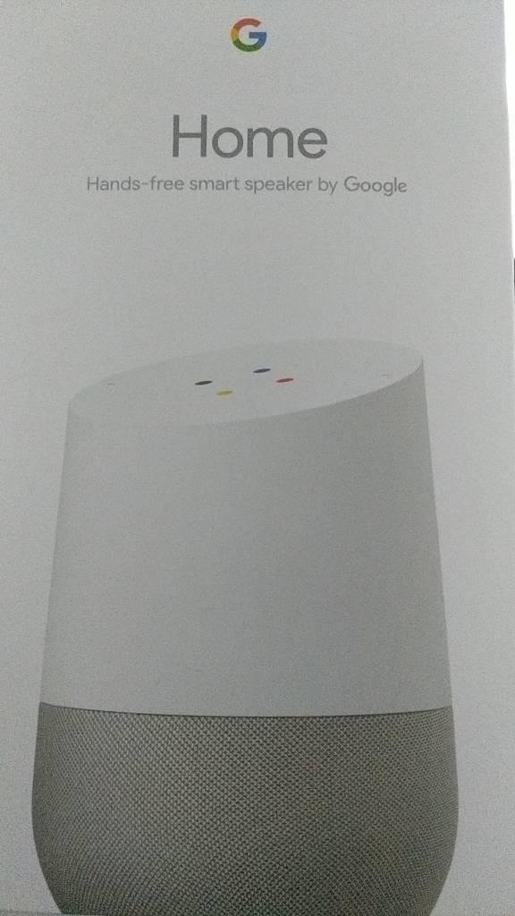 Google home speaker brand new in box