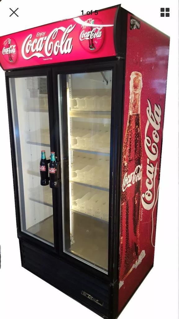Coca Cola Double Door Drink Display Fridgechillercooler Sale Sale