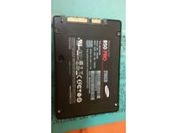 Samsung 850 Pro SSD - 256 GB LIKE NEW