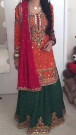 Bridal mehndi outfit