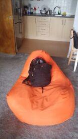 Large indoor/outdoor bean bag