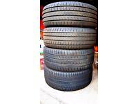 Four (4) Pirelli Cinturato P/7 Tyres. 235/55/R17 W99. Excellent condition.