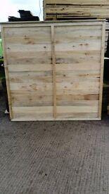 1800mmx1800mm lap fence panels heavy duty