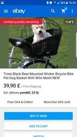Bike dog basket