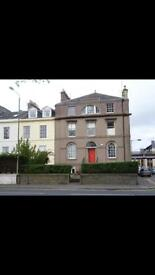 1 bed flat overlooking South Inch Park