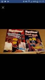 Top gear cool wall poster book & the challenges sticker activity book vintage great condition