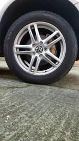 Winter tyres & alloy wheels 255-55-19