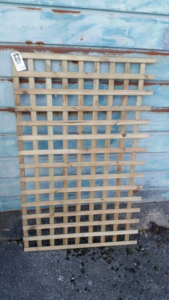3 trellis panels, brand new with labels