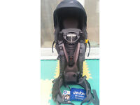 Child carrier complete with rain cover Deuter Kid Comfort 3