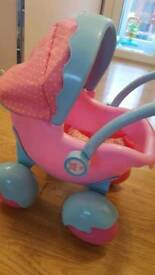 ELC Cupcake My First dolls pram