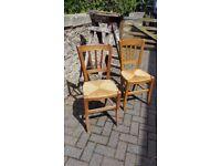 French Farmhouse Chairs x4