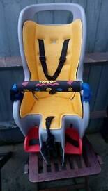Topeak seat with rack