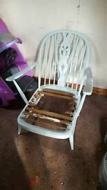 Ercol chairs and 2 seater