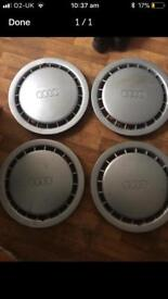 Audi 14inch wheel trims
