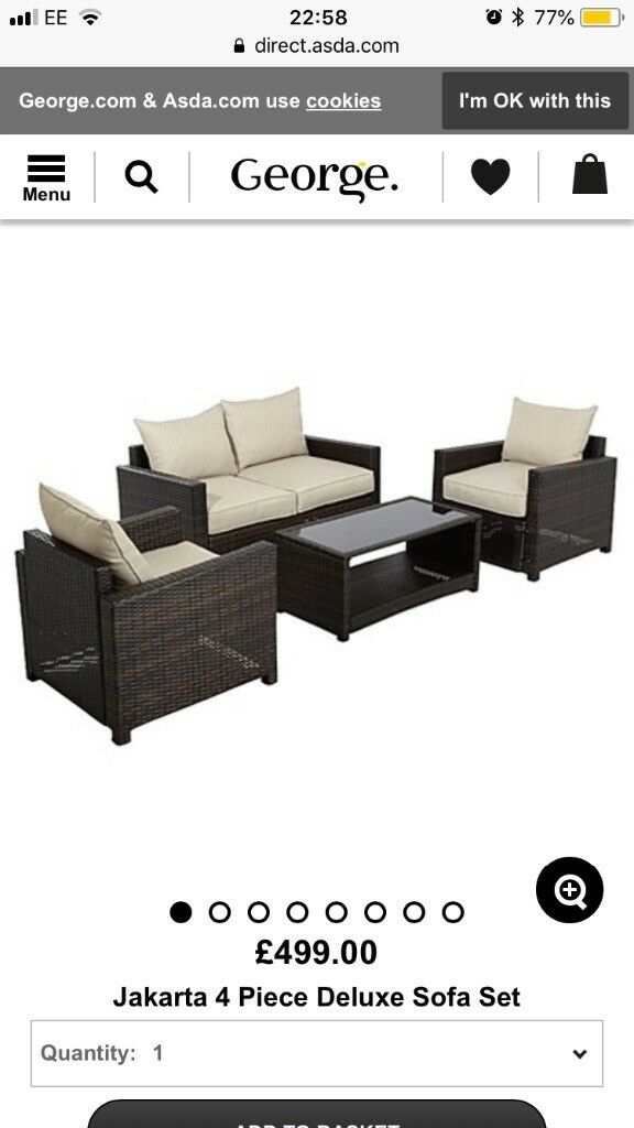 Rattan Garden Furniture In Leicester Leicestershire Gumtree